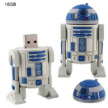 Star Wars Style R2D2 Robot USB 16GB Flash Disk